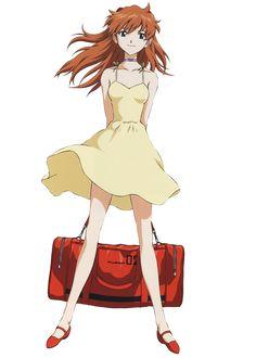 Neon Genesis Evangelion Asuka Langley Soryu Maid Ver Figure Kot... FROM JAPAN