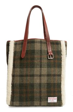 online shopping for JW Anderson Tartan Belt Tote Genuine Shearling Trim from top store. See new offer for JW Anderson Tartan Belt Tote Genuine Shearling Trim Fashion Handbags, Tote Handbags, Purses And Handbags, Leather Handbags, Bags Online Shopping, Online Bags, Denim Tote Bags, Tartan Fabric, Harris Tweed