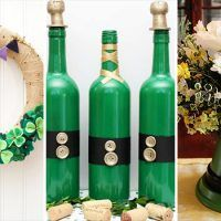 Take a moment to explore this new collection of 15 Masterful DIY St. Patrick's Day Decor Projects You Must Craft. Plastic Bottle Planter, Plastic Bottle Crafts, Plastic Bottles, Hat Tutorial, Wreath Tutorial, Diy Recycle, Recycling, String Art Tutorials, Old Wine Bottles