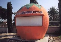 the last remaining Orange Juice Stand in Fontana.