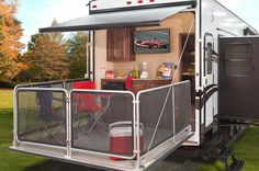 45 Best Fifth Wheel Toy Hauler Patio Images Fifth Wheel