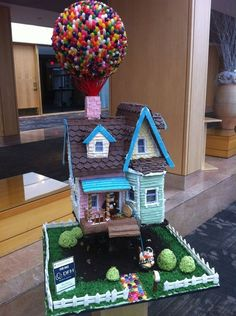 "Look at this heartbreakingly cute ""Up"" house 