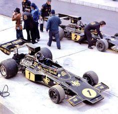 John Player Team Lotus (Lotus 76) with Ronnie Peterson & Jacky Ickx