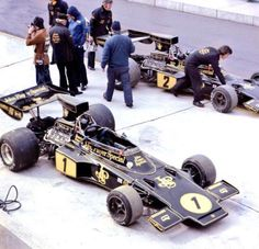 John Player Team Lotus (Lotus 76) with Ronnie Peterson & Jacky Ickx