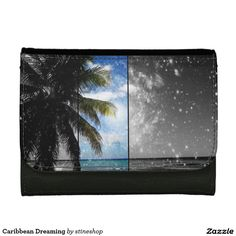 Caribbean Dreaming Leather Wallets