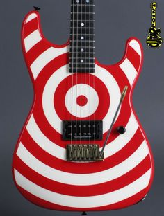 Charvel Custom Shop USA San Dimas Bullseye Limited 11 out of 27 worldwide