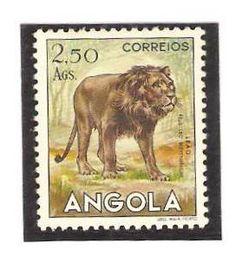 Angola 1953, 2.50 Ags. Lion.