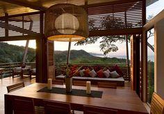 salle à manger - Holiday House par Benjamin Garcia Saxe - Costa Rica