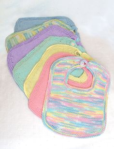 Knit Bibs and Booties