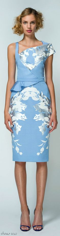 Bibhu Mohapatra Resort 2015 women fashion outfit clothing style apparel @roressclothes closet ideas