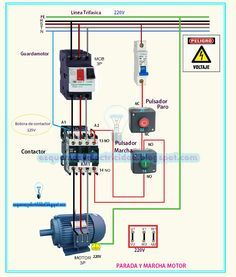 three phase contactor wiring diagram electrical info pics non stop rh pinterest com wiring magnetic contactor diagram wiring a 3 phase contactor diagram