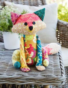 10 Free Soft Stuffed Animals Sewing Patterns with Photos