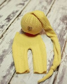 Newborn Upcycled Hat/Pants Set
