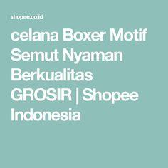 celana Boxer Motif Semut Nyaman Berkualitas GROSIR | Shopee Indonesia