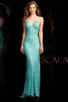 #SCALA Spring 2017 style 47551 Tiffany. #scalausa #spring2017 #prom #promdress #prom2k17 #prom2017 #gown #eveningwear #fancy #pageant #fancy #dress #longdress #fashion #beautiful #redcarpet #emmys #oscars #goldenglobes #celebrity #sequins #sparkle #sequindress www.scalausa.com