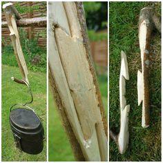 Bushcraft/Woodcraft pot hangers