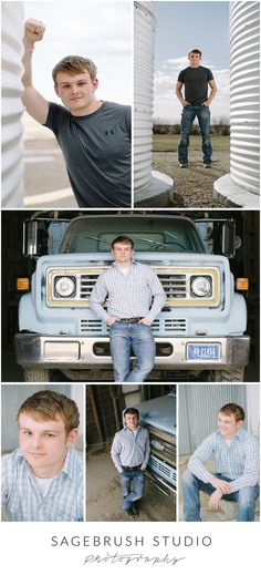 Brett, High School Senior Pictures. Farm Boy. Sagebrush Studio Photography, Shelby Montana