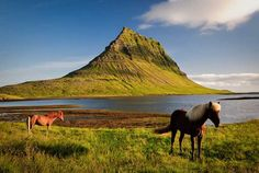 Mt. Kirkjufell - Or The Lonely Mountain. Journey to the Center of the Earth Tour