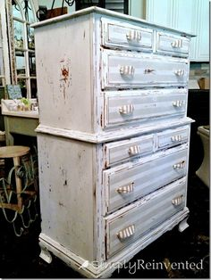10  Heavily Distressed Chippy Furniture Pieces August 1, 2014 by Jamie 11 Comments 10  Heavily Distressed Chippy Furniture Pieces