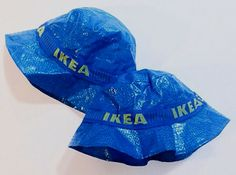 People are making impressive clothes out of IKEA's iconic blue bag #clothing #fashion #fashiontrend #ikea #ikeabag