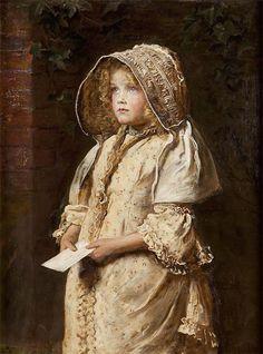 John Everett Millais (Brittish, 1829-1896) For the Squire (1882) Oil on canvas