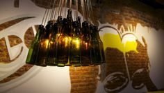 Beerhouse chandelier