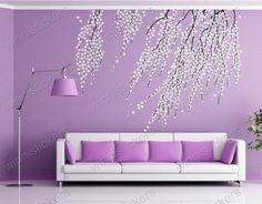 Vinyl Wall Decal Nature Design Tree Wall Decals Wall por WinneDEGIN, $72.00