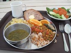Sivananda Ashram Yoga Retreat: Vegetarian Food