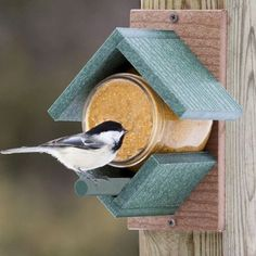 Birdhouse In The Garden That Makes The Park More Beautiful 34