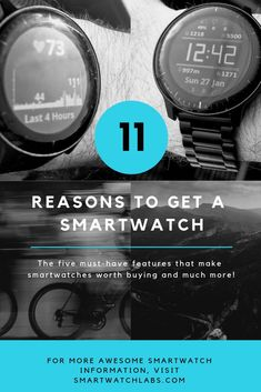 The five must-have features that make smartwatches worth buying are currently wrist-based heart rate measurement, sleep tracking, sports tracking, GPS for distance and speed measurement and smart notifications. Latest Smartwatch, Smartphone Gps, No Equipment Workout, Fitness Equipment, Fitbit Charge Hr, Fitness Watch, Heart Rate, Going To The Gym, Fitness Tracker