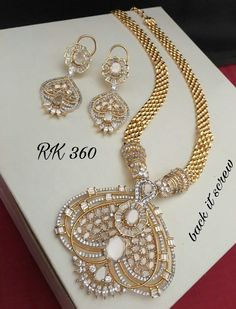 35fdb52ca Diamonds Jewellery Available at  ankhjewels for booking msg on  +919619291911.... Pendant SetDiamond ...