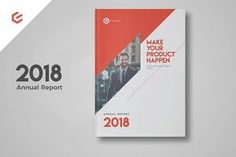 Ad: Annual Report 2018 by FathurFateh on Annual Report 2018 template is a 28 pages Indesign template available in size. Print ready or export and send to clients as a pdf. Template Brochure, Design Brochure, Brochure Layout, Indesign Templates, Corporate Brochure, Business Brochure, Business Card Logo, Creative Brochure, Corporate Business