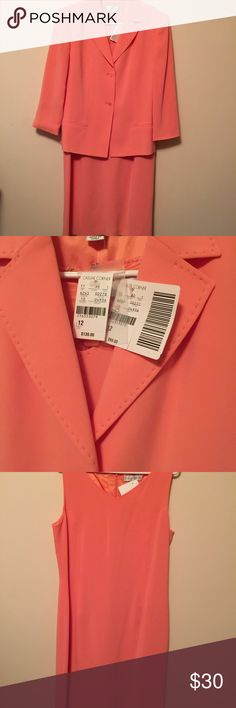 Casual corner dress suit Beautiful brand new casual corner dress suit. Size 12. Original price of $238. Dress and jacket to match Other