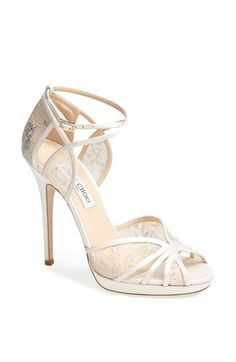 Wedding shoes by Jimmy Choo @Nordstrom