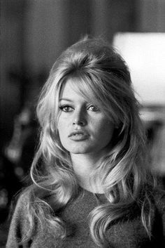 Brigitte Bardot - Photo posted by ladyrin - Brigitte Bardot - Fan club album #hairinspiration
