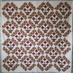 love the checkerboard sashing