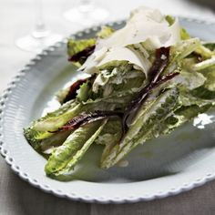 Garlicky Caesar Salad