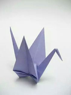 Origami seating cards