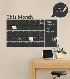 #diy Chalkboard planner