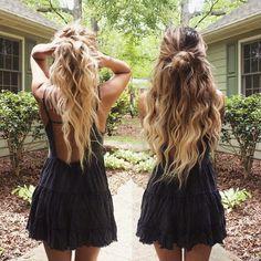 curls & black dresses