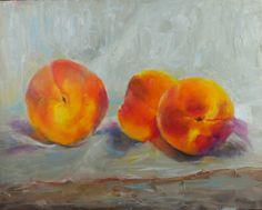 Sue ChurchGrant Daily Painting: Soft Peaches Study