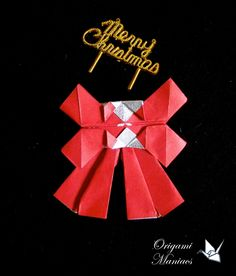 Origami Maniacs 155: Ribbon for the X-mas Wreaths