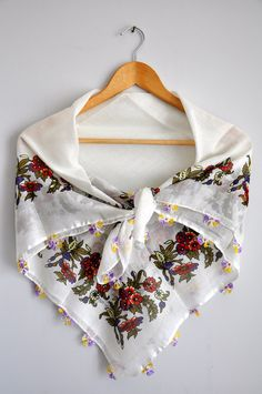 Love the print of this scarf!  by zuzusworld