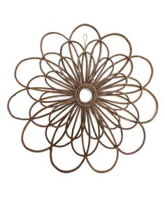 Another great find on #zulily! Vine Flower Wall Art by Shea's Wildflowers Company #zulilyfinds