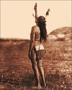 Edward S. Curtis Sun Dancer Native American Sioux Indian photo.