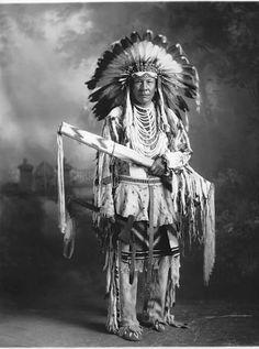 Chief Duck - Blackfoot - circa 1925