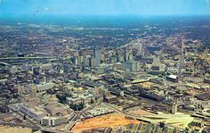 This gives you an idea how much the city has grown since the 1960s; notice how much the Capital stood out then, whereas now it's engulfed by skyscrapers.