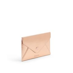 Poppin Metallic Copper Business Card Case | Desk Accessories | Cool Office Supplies #workhappy