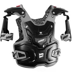 Leatt Adventure Chest Protector CE Approved - Black