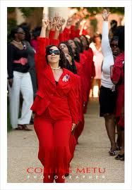 Sorors Stepping - College